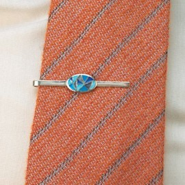 Tie Pin Blue