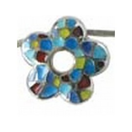 Pendant Flower Trencadis Colours Small