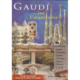 GAUDI, the architect game CD-Rom