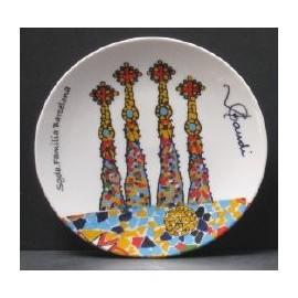 Plato Sagrada Familia mini 14 cm