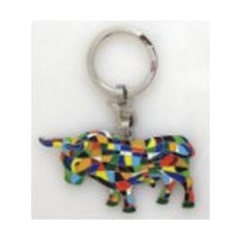Trencadis bull key ring 2