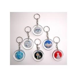 Set 6 Gaudinian Key Rings