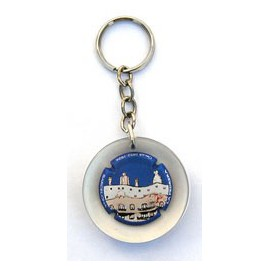 Pedrera façade Key ring