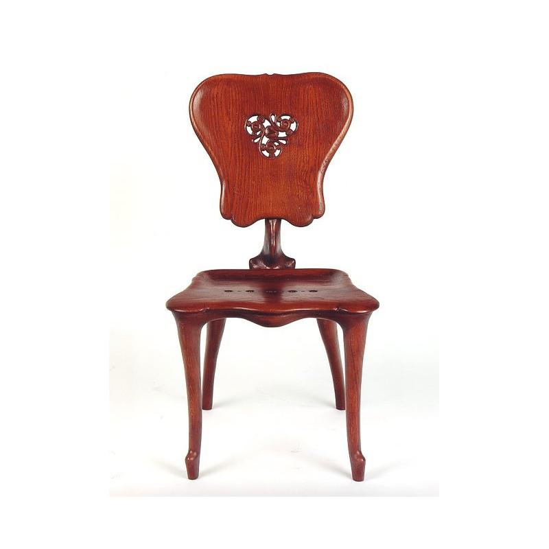 Chaise calvet reproduction originale gaudi barcelona shop for Chaise originale