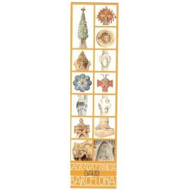 Punto de Libro Sagrada Familia Gaudi Barcelona