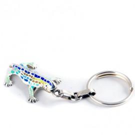 Sterling Silver Keyring Lizard