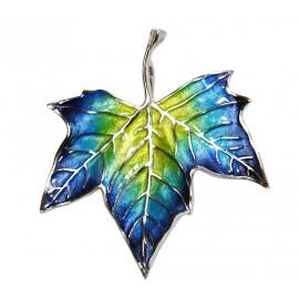 Planetree Leaf Brooch