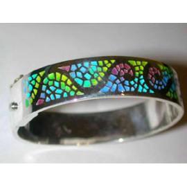 Gaudí Spiral Trencadís Bracelet