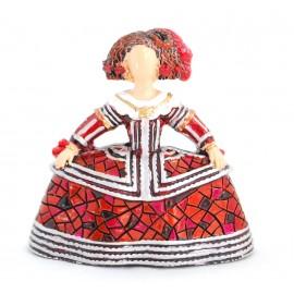 Menina Trencadis Roja 8 cm