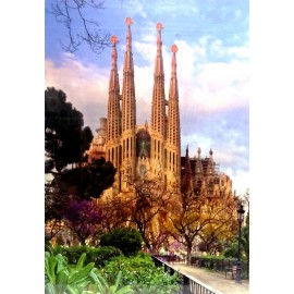 Puzzle Sagrada Familia 1000 Pieces
