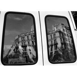 Photo Print Barcelona Street Reflexion