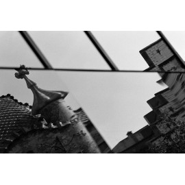 Photo Print Casa Batlló Reflexion
