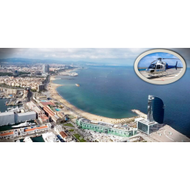 Helicopter Tour Barcelona Coast