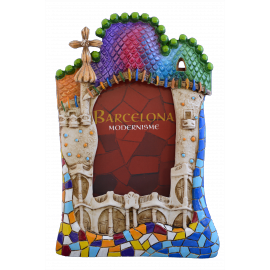 Casa Batlló Resin Photo Frame