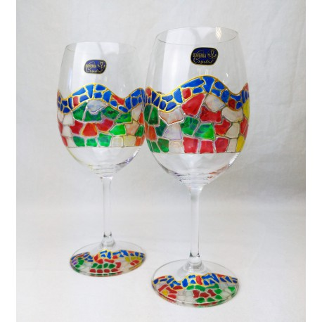Set of 2 Wine Cups with Briefcase