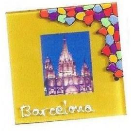 Set 6 Posavasos Cristal Catedral de Barcelona
