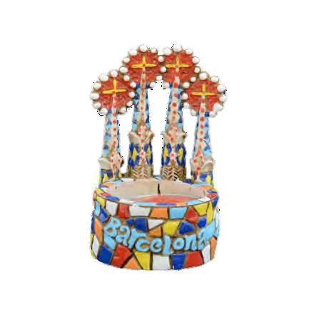 Candle holder Sagrada Familia