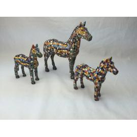Set of 3 horses