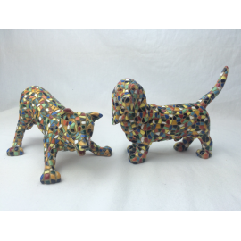 Set of 2 dogs