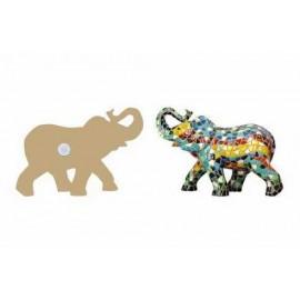 Elefante imán 9 cm.