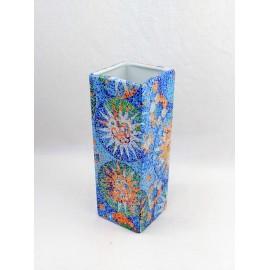 Dark Vitral Vase