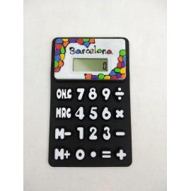 Vitrall Flexible Calculator Black