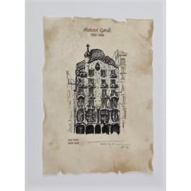 Casa Batlló Lithography