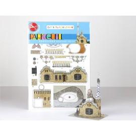 Mini Kit recortable Park Güell