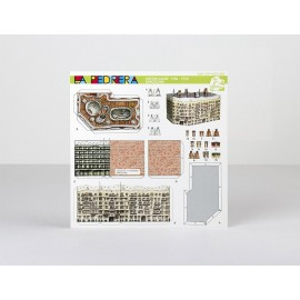 Postcard Paper Model Pedrera