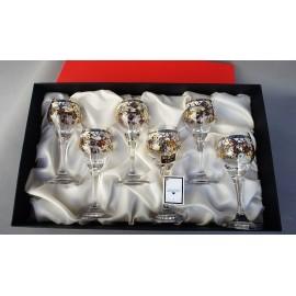 Set of 6 mini wine cups
