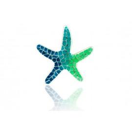 Colgante Estrella Gaudí Trencadís Verde