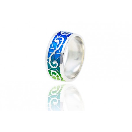 Colorful Modernist Ring