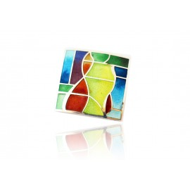 Colour Square Necklace