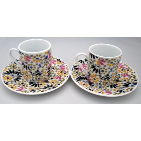 Set Cups You and Me Mosaique