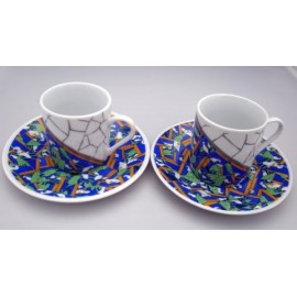 Set Cups You and Me Lilies