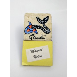 Magnet Notes Gaudi Fish
