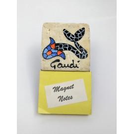 Notas Imán Pez Gaudí