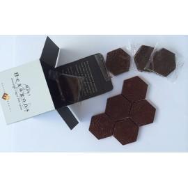 Mini Gaudí Chocolate Hexagonal Paving Stones