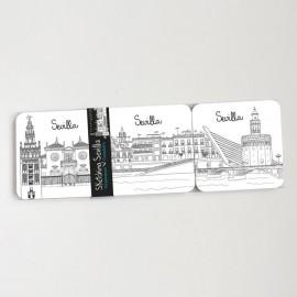 Sketching Sevilla Coasters