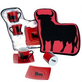 Set of 2 cups Osborne bull box