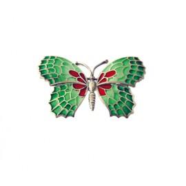 Green Butterfly Pendant Gaudí