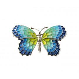 Blue Butterfly Pendant Gaudí