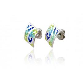 Gaudí Romantic Spiral Earring