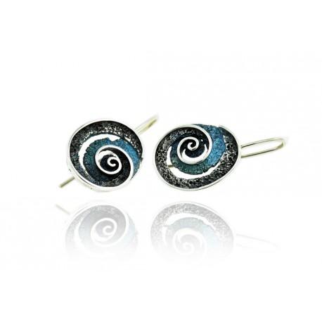Round Riera earrings