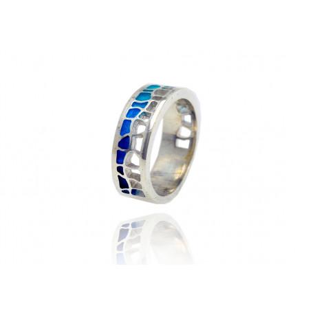Blue Pedrera Ring