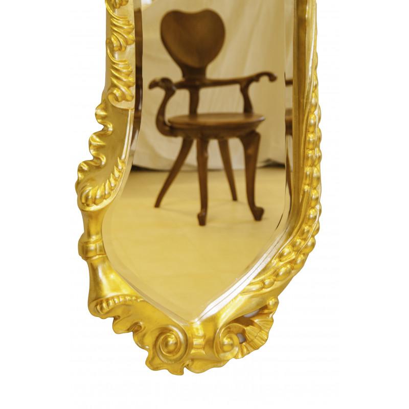 espejo calvet dorado grande