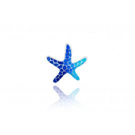 Pendant Star Gaudi Trencadis Blue Small