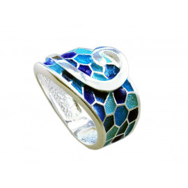 Ring G of Gaudí blue