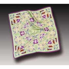 Silk Scarve Floral