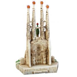 Little Sagrada Familia  in resin